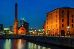 Albert Dock complex in Liverpool, UK Royalty Free Stock Photography