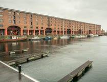 Albert Dock em Liverpool Foto de Stock