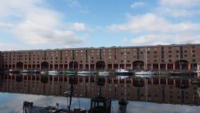 Albert Dock i Liverpool stock video