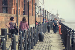 Albert Dock in Leiverpool Royalty Free Stock Photography