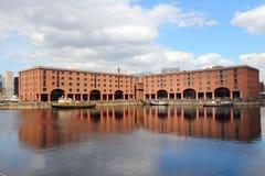 Albert Dock, Liverpool royalty-vrije stock afbeeldingen