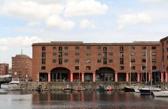 Albert Dock Liverpool Royaltyfri Fotografi