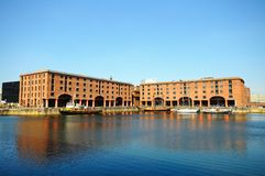 Albert Dock Liverpool arkivbild
