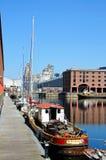 Albert Dock, Liverpool Immagine Stock
