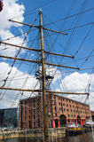 Albert dock. In liverpool architecture Royalty Free Stock Photography