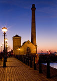 Albert-Dock - Liverpool - England Stockbild