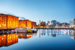 Albert dock Liverpool England royalty free stock photography