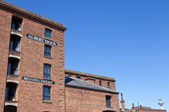 Albert Dock in Liverpool Stock Image