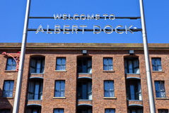 Albert Dock in Liverpool Stock Images