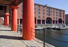 Albert Dock in Liverpool Stock Photography