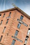 Albert Dock Liverpool Red Brick Built Building Royalty Free Stock Images