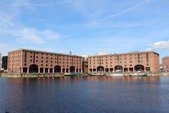 The Albert Dock in Liverpool, Merseyside. The Albert Dock in Liverpool, Merseye taken on a sunny day Stock Photo
