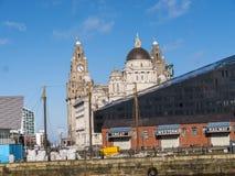 The Albert Dock in Liverpool Merseyside England Stock Photography