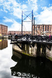 The Albert Dock in Liverpool in Merseyside in England Royalty Free Stock Image