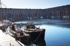 Albert Dock in Liverpool Merseyside England Stock Photo