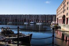 Albert Dock in Liverpool Merseyside England Stock Photography