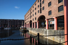 Albert Dock in Liverpool Merseyside England Royalty Free Stock Image