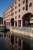 Albert Dock in Liverpool Merseyside England Royalty Free Stock Images