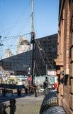 Albert Dock in Liverpool Merseyside England Stock Images