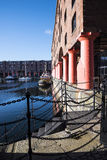 Albert Dock in Liverpool Merseyside England Royalty Free Stock Photo