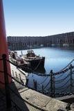 Albert Dock in Liverpool Merseyside England Stock Photos