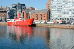 Albert Dock, Liverpool Royalty Free Stock Photo
