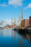 Albert Dock, Liverpool, UK stock photography