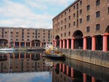 Albert Dock in Liverpool Stock Photography
