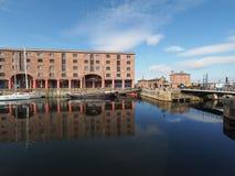 Albert Dock in Liverpool Stock Photo