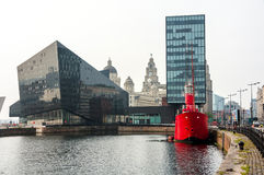 Albert Dock in Liverpool, UK Royalty Free Stock Image