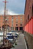 Albert Dock, Liverpool, UK. View of Albert Dock, Liverpool, UK Royalty Free Stock Photo