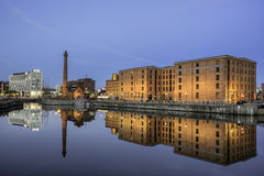Albert Dock on Liverpool waterfront Royalty Free Stock Image