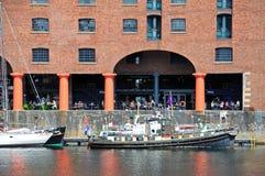 Albert Dock, Liverpool. Royalty Free Stock Images
