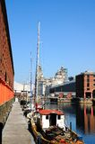 Albert Dock, Liverpool. Royalty Free Stock Photos