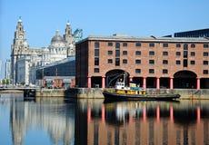 Albert Dock, Liverpool. Stock Photography
