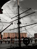 Albert Dock Rigging stock photography