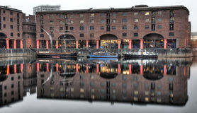 Albert docks Stock Image