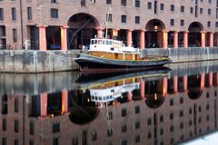 Albert docks Royalty Free Stock Image