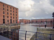 Albert docks Stock Images