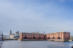 Albert Docks Liverpool Stock Photo