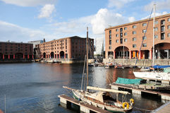 Albert docks port Royalty Free Stock Photos