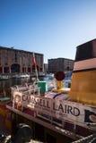 Albert dok jest kompleksem doków magazyny w Liverpool i budynki, Anglia Fotografia Royalty Free