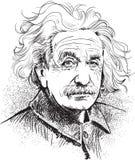 Albert Einstein stock illustratie