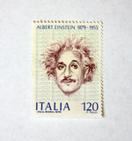 Albert Einstein Fotografia de Stock Royalty Free