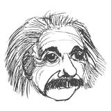 Albert Einstein famous scientist Stock Photo