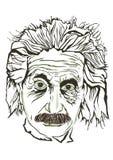 Albert Einstein Line Stock Photos