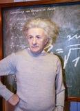 Albert Einstein at Madame Tussaud s Stock Photo