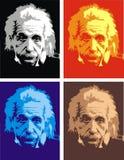 Albert Einstein - mi caricatura original stock de ilustración