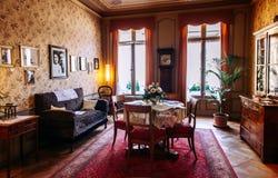 Albert Einstein Muzealny dom miejski w Starym Grodzkim Bern, Szwajcaria obrazy royalty free