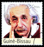 Albert Einstein Postage Stamp Royalty Free Stock Images